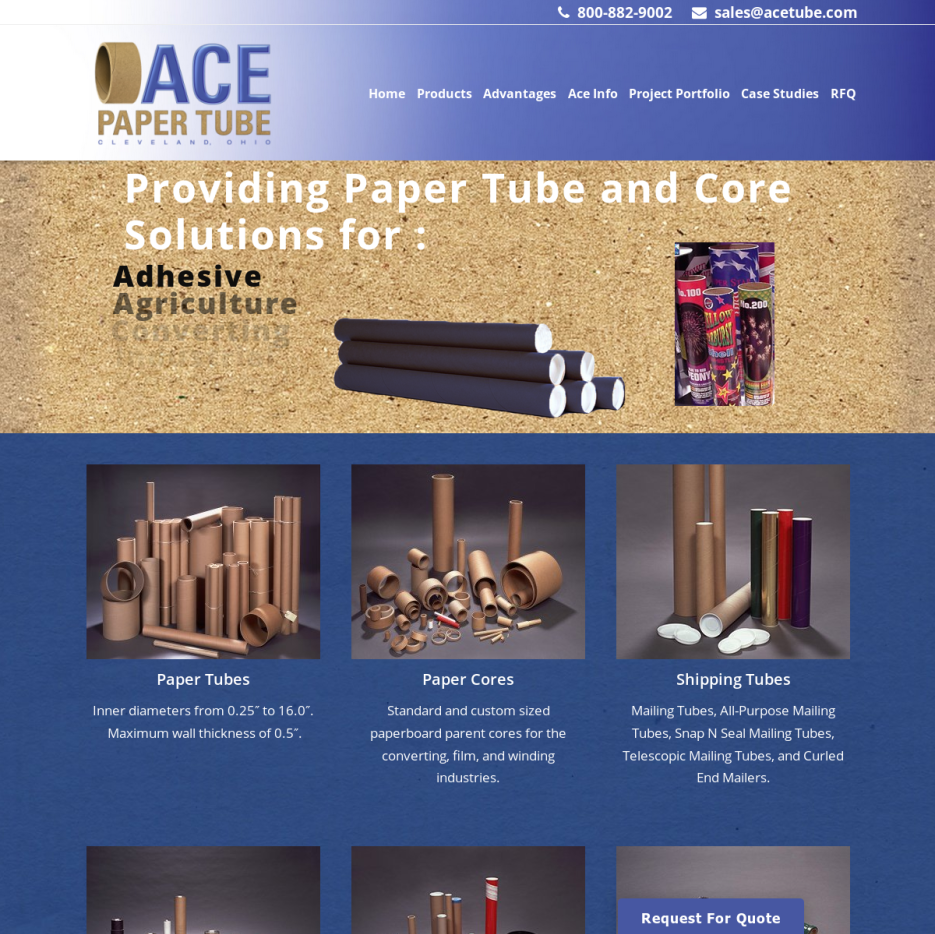 Kraft tube manufacturers suppliers companies ace paper tube corporation malvernweather Choice Image