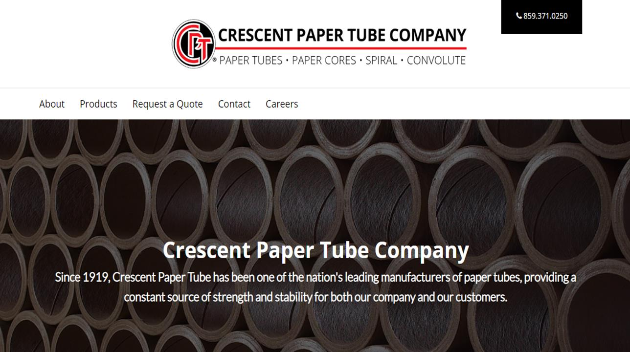 Crescent Paper Tube Company, Inc.
