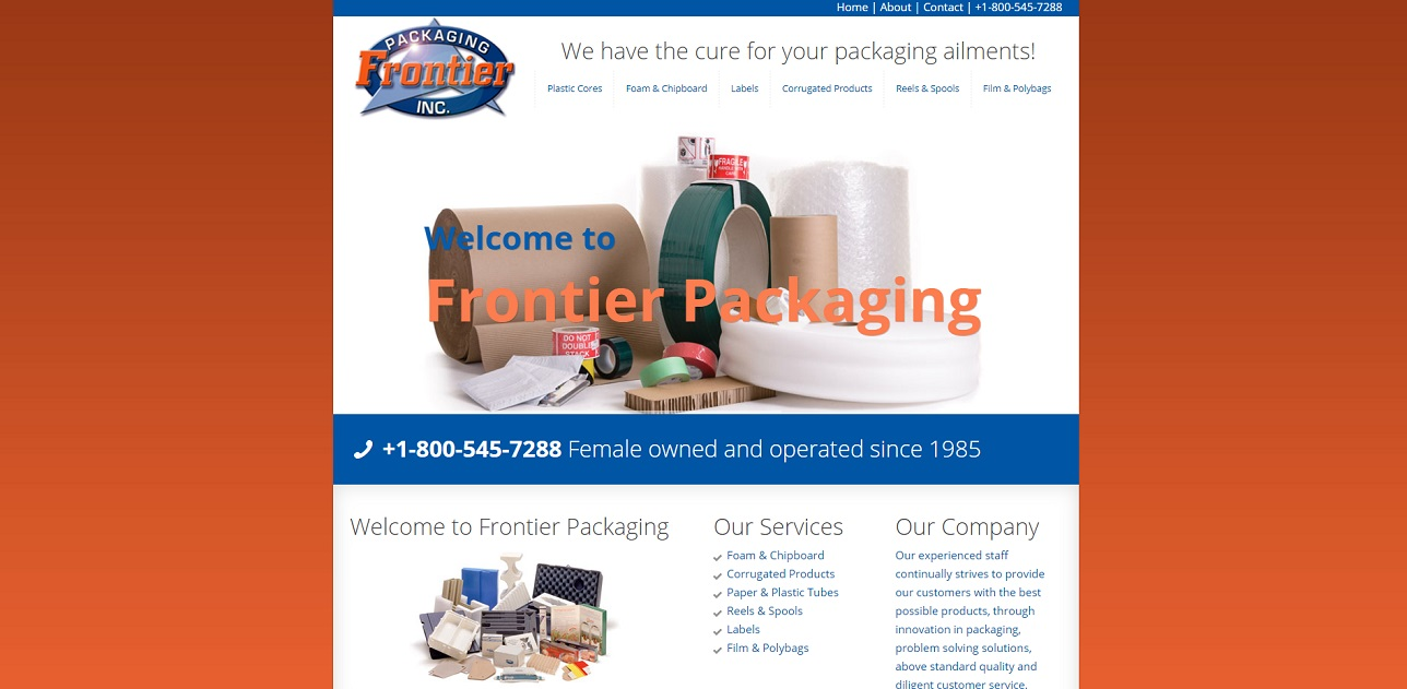 Frontier Packaging, Inc.