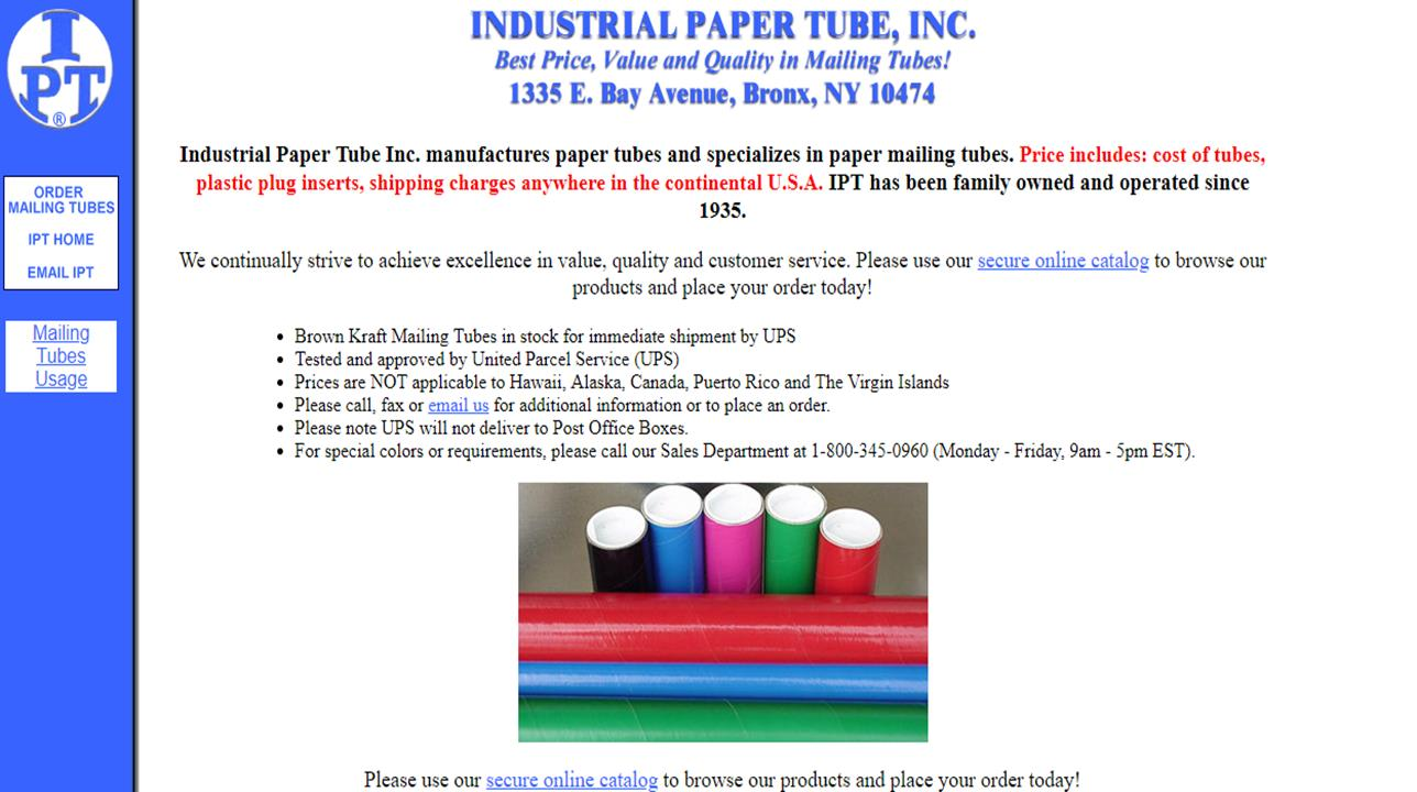 Industrial Paper Tube, Inc.