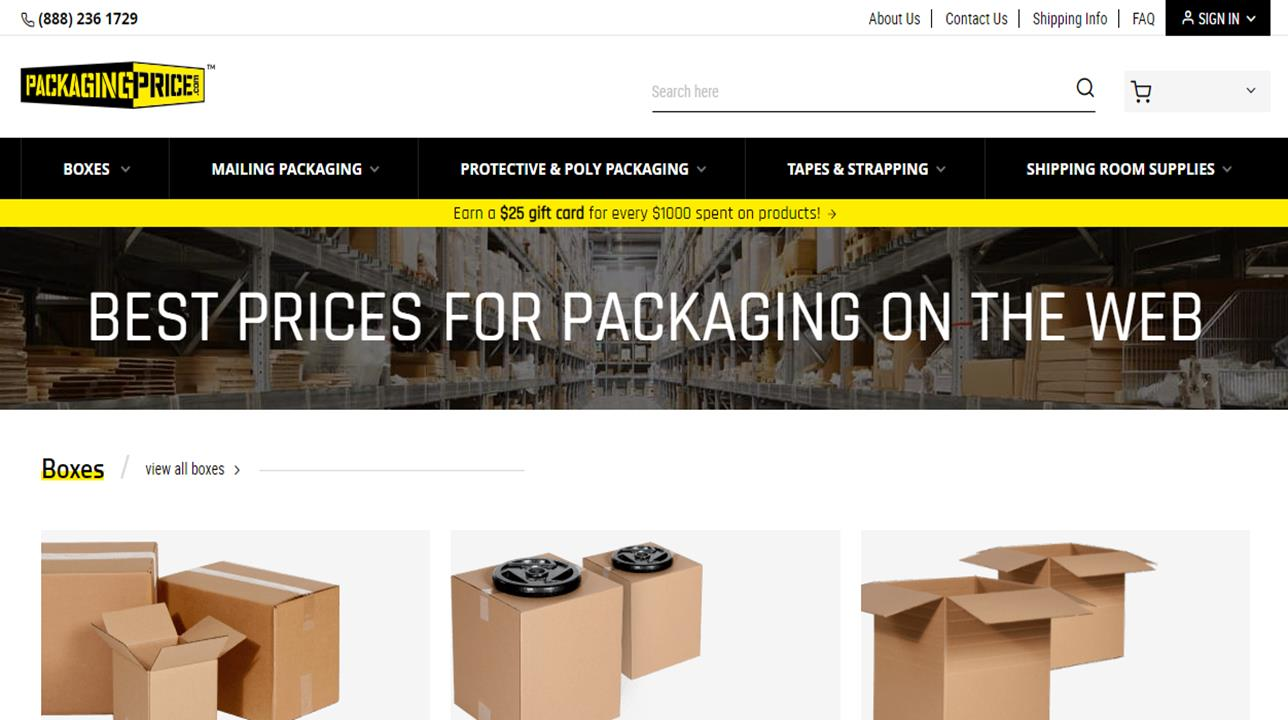PackagingPri¢e.com™, Inc.