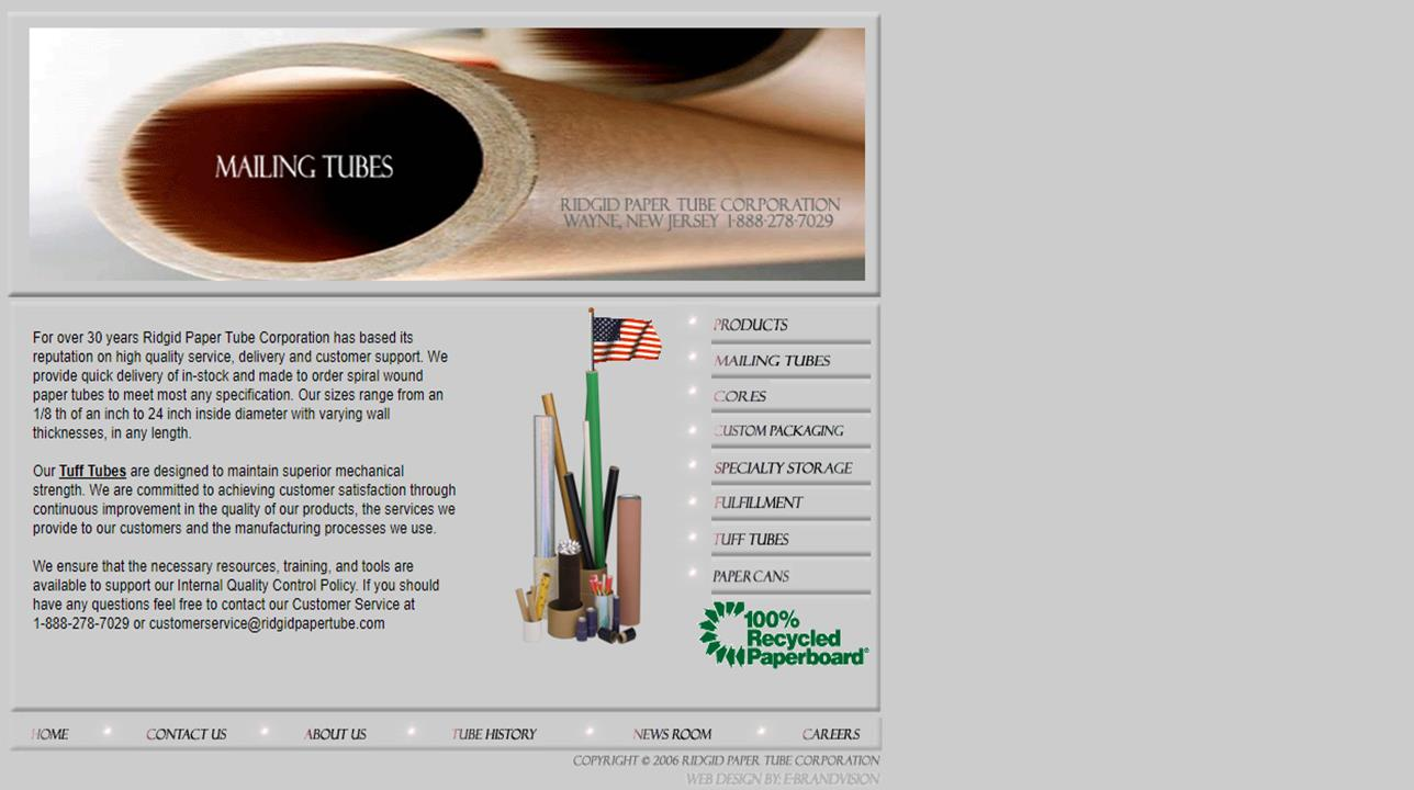 Ridgid Paper Tube Corporation