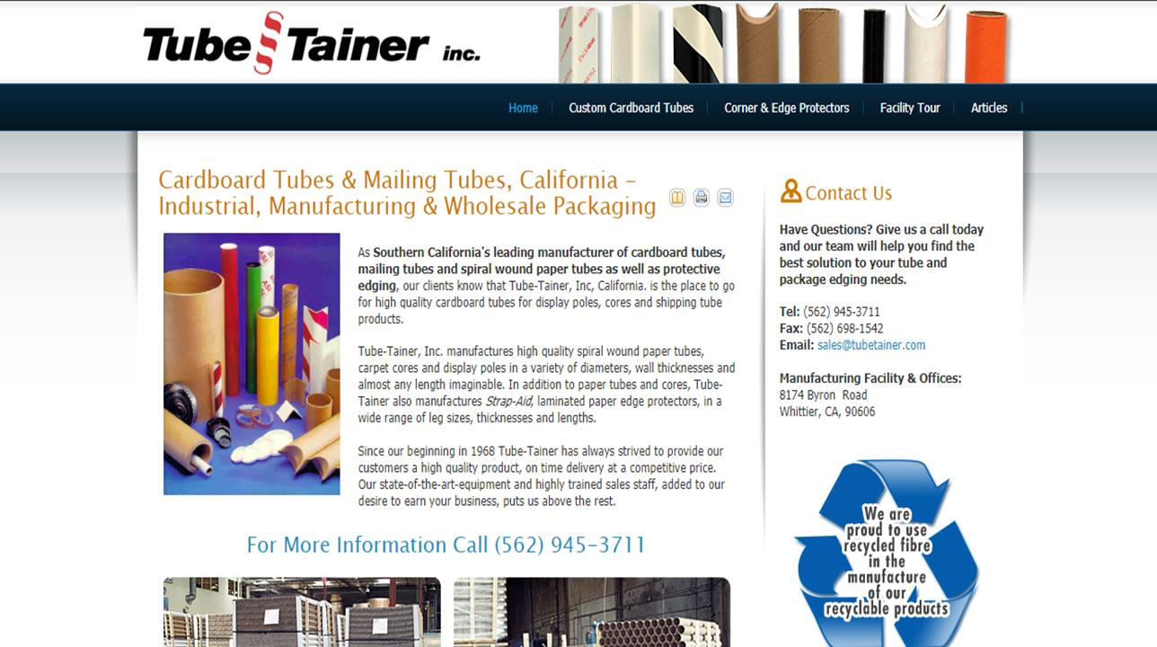 More Cardboard Tube Manufacturer Listings