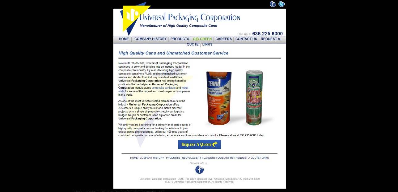 Universal Packaging Corporation
